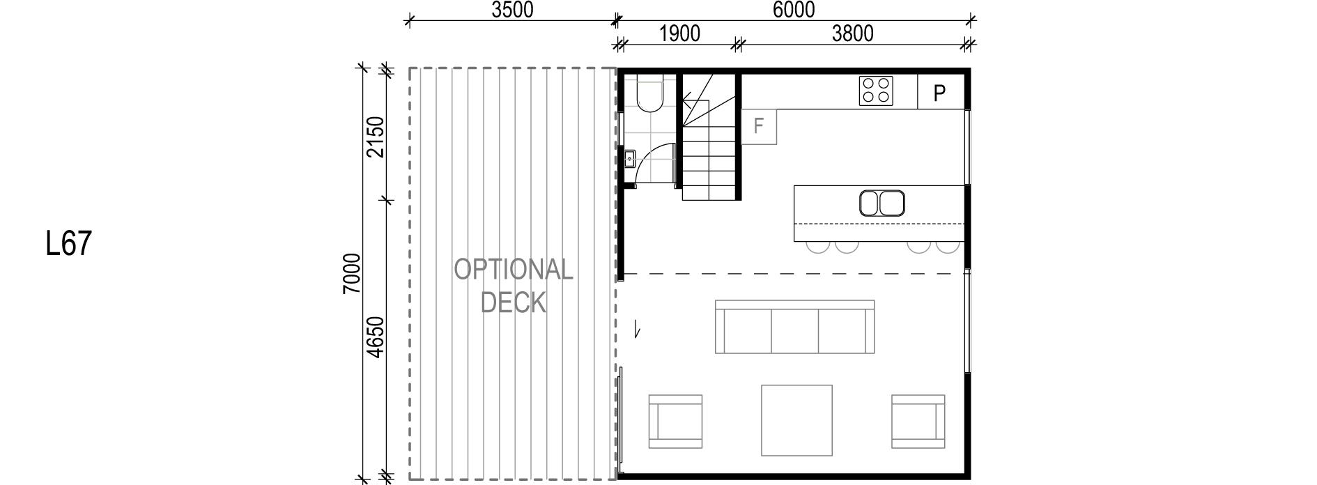 <span>L67</span> <br />Module Price: $88,720<br /> Installation Cost: $15,410<br />Modules: 1<br />Size:42m²