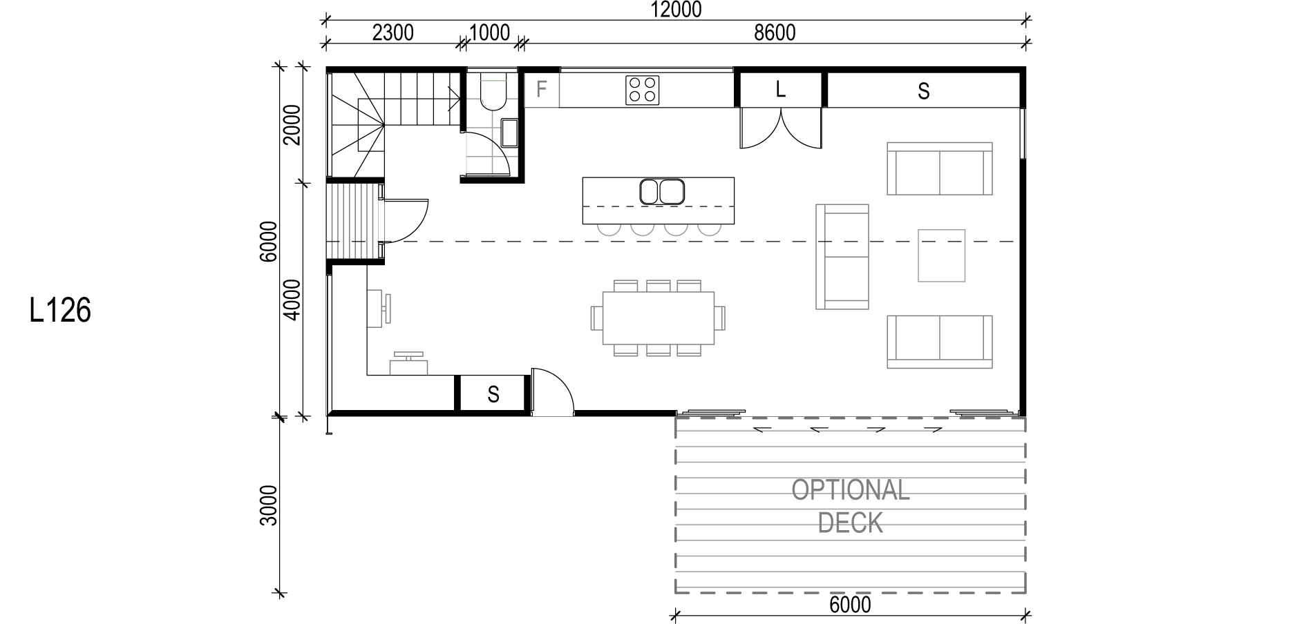 <span>L126</span> <br />Module Price: $117,600<br /> Installation Cost: $17,620<br />Modules: 2<br />Size:72m²