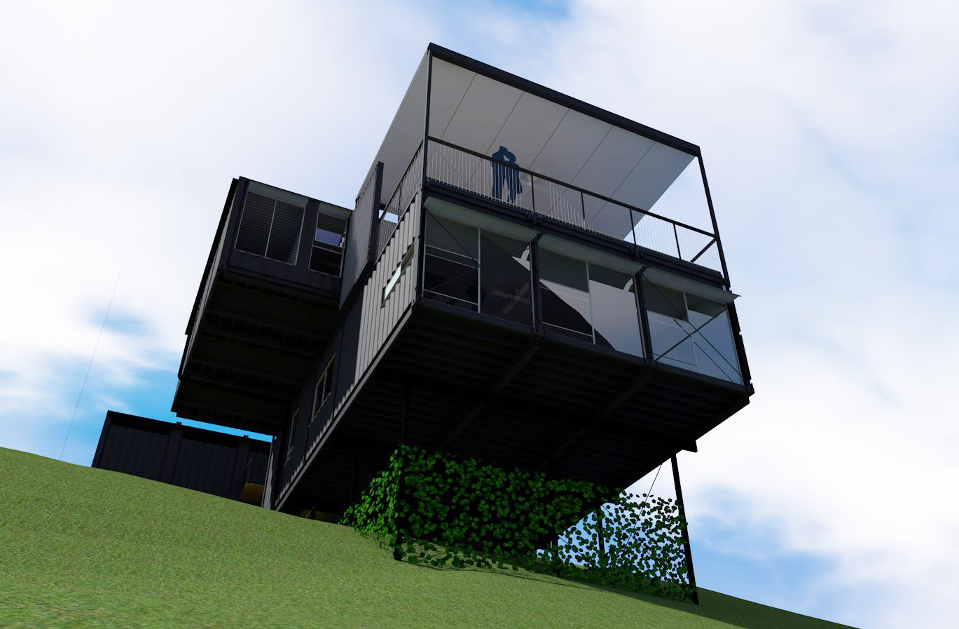 Point Lookout Container House