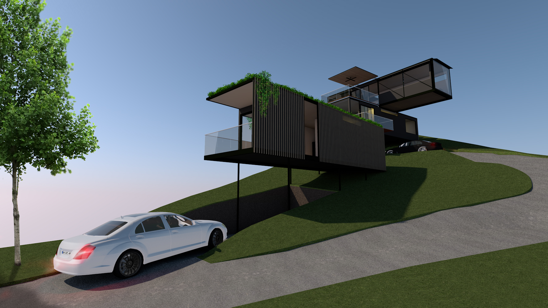Point Lookout Modular House